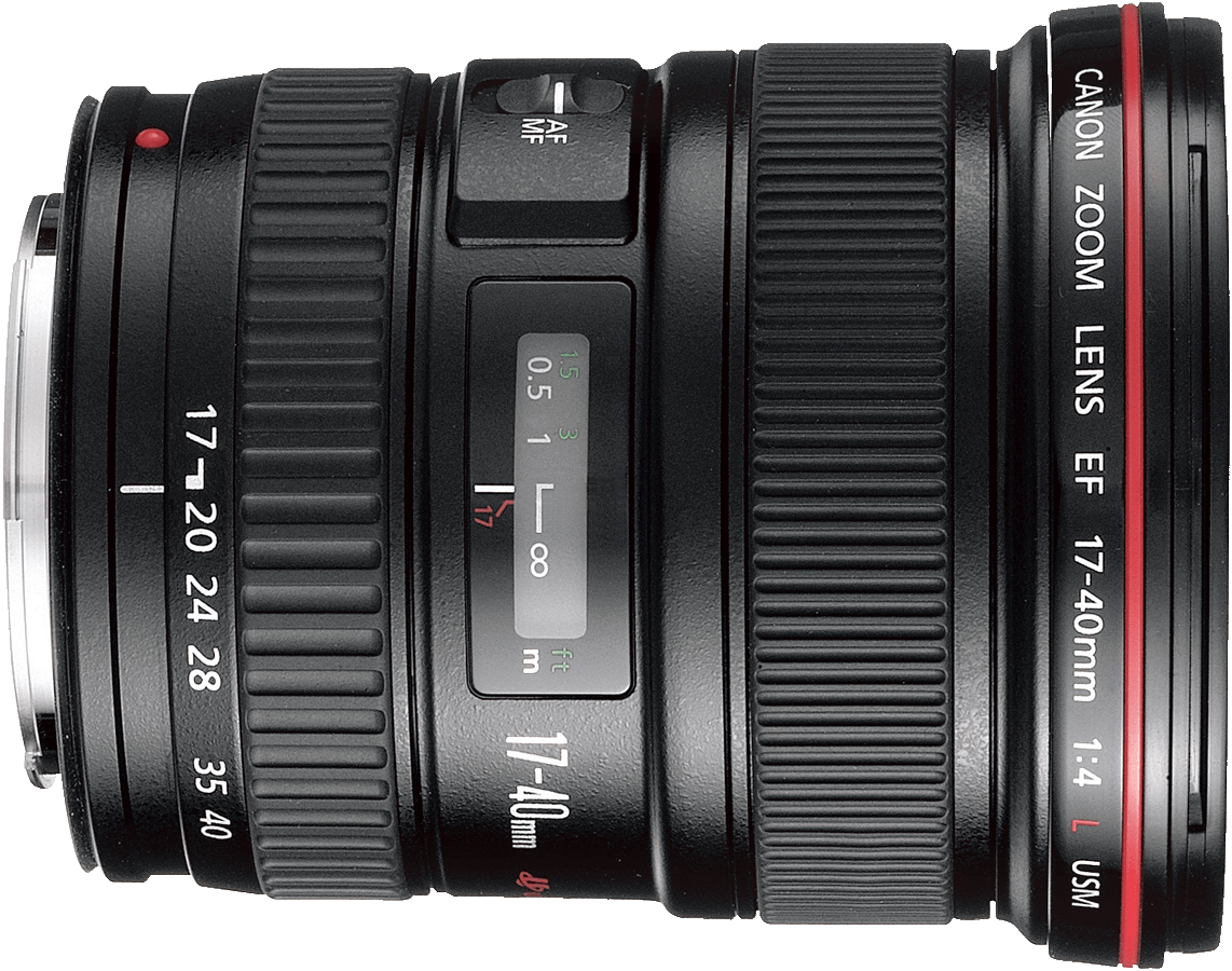 A wide angle lens that works well with both full frame and crop sensor cameras.  Works well for landscape and group photos in good light.  One of Canon's most affordable L lenses.