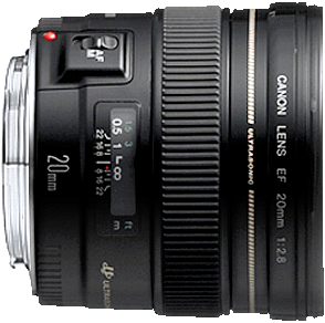 Wide, fast prime lens that works well with full frame and crop sensor cameras.