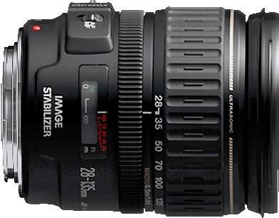 This standard zoom lens provides a useful range of zoom and an image stabilizer.  Works with full frame and crop sensor cameras.