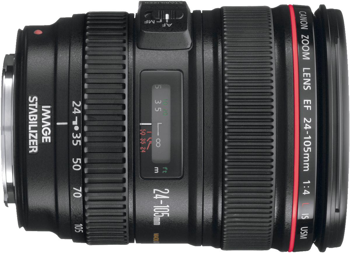 An L quality standard zoom lens that works well with both crop and zoom lens cameras.
