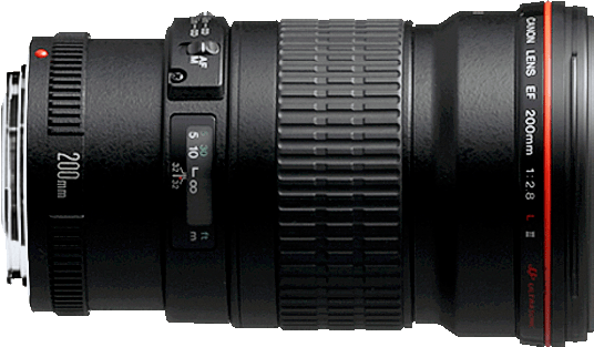 A 200mm f/2.8 lens in a compact and lightweight package.