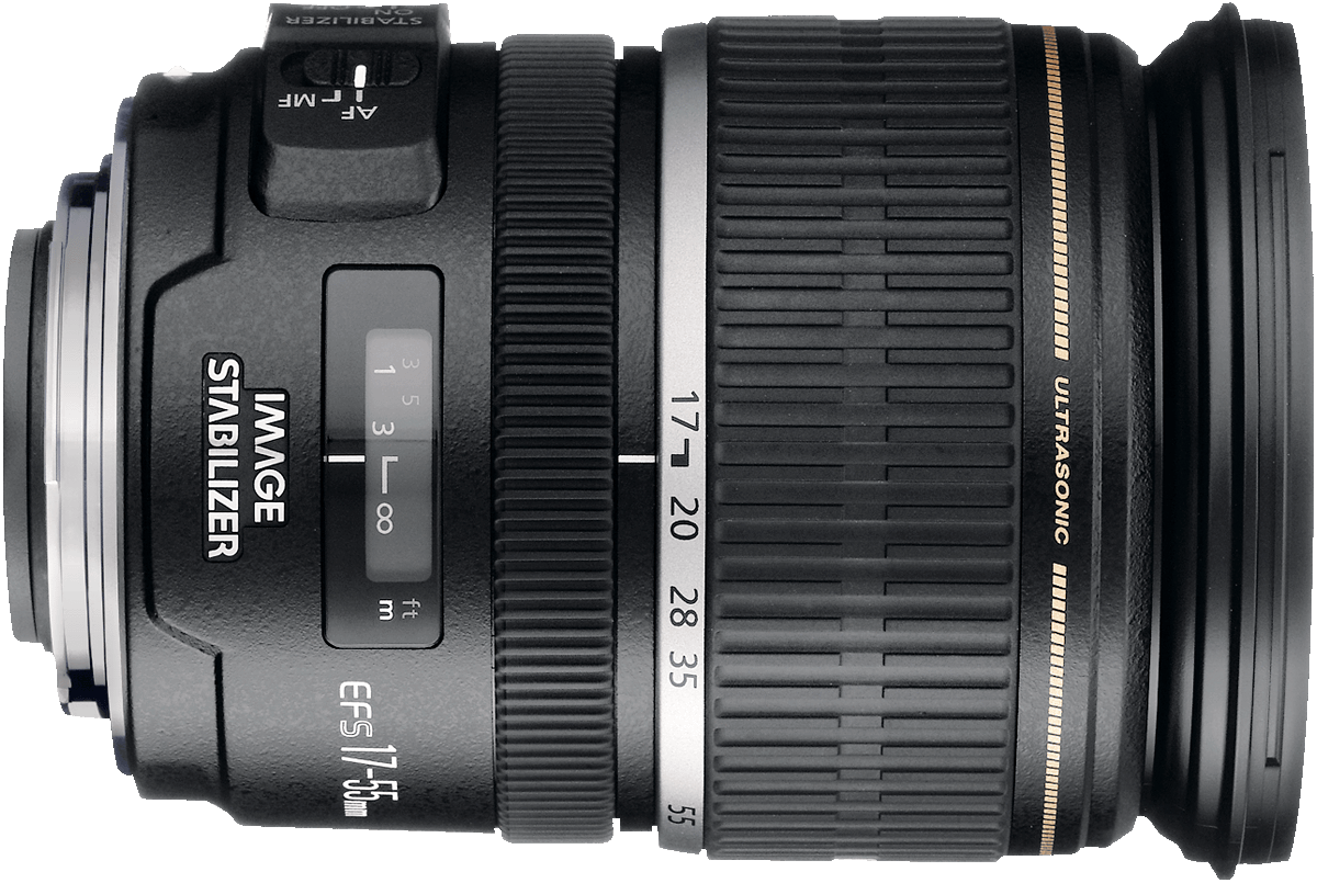 A wide to standard zoom lens with image stabilizer and constant f/2.8 aperture, this lens is popular for low light photography with crop sensors.