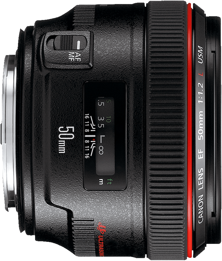 Canon's fastest 50mm lens in production.  A great choice for those who need very narrow depth of field and extreme background blur.