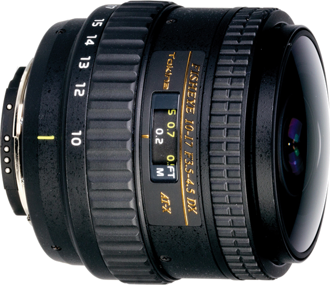 This fisheye zoom provides a very wide circular image.  Designed for crop sensor cameras.