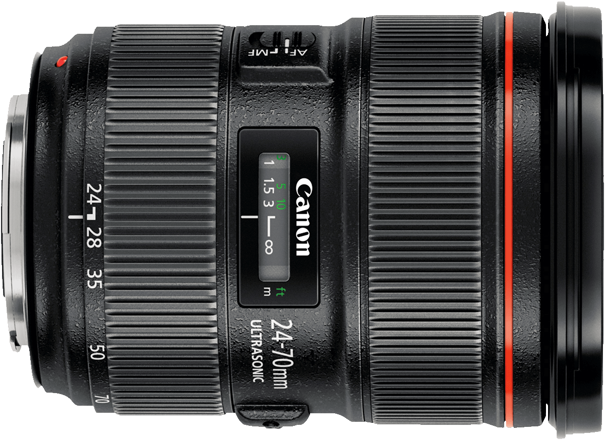 This is Canon's newest model (version II) of the 24-70mm f/2.8 lens.