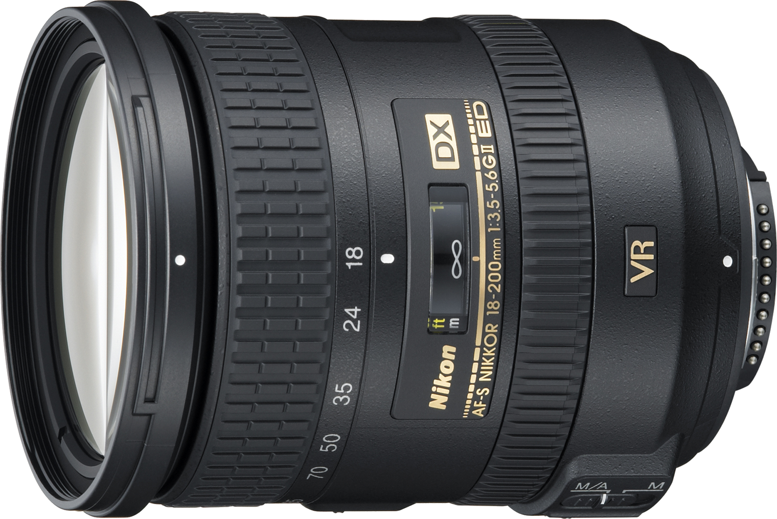 This lens has a very large focal length range, making it an excellent walkaround lens for crop sensor cameras.
