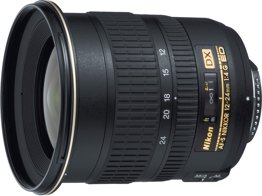 A wide angle zoom lens for use on crop sensor cameras.