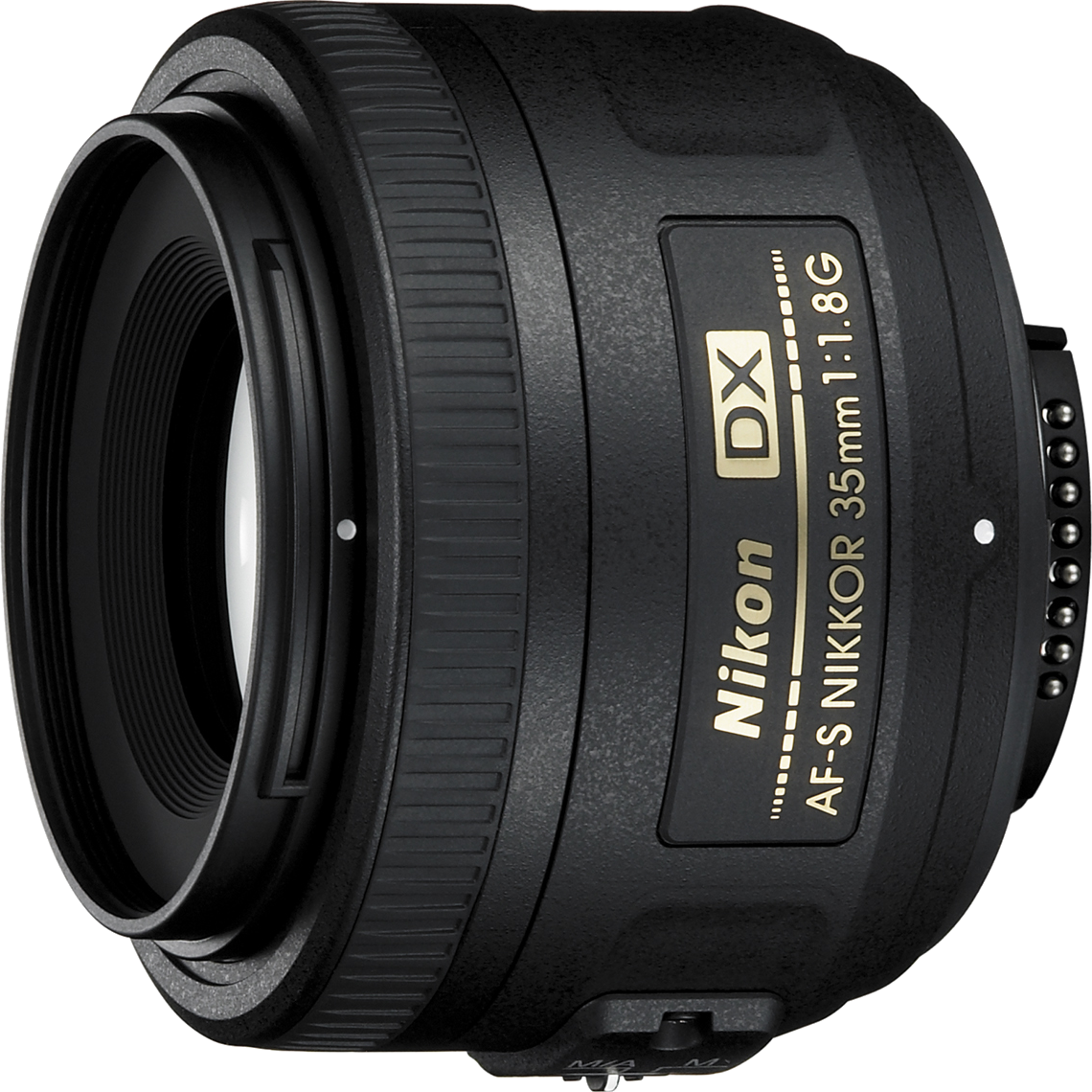 A standard prime, the Nikon 35mm f/1.8 gives prime quality sharpness in a light, compact, and affordable package.