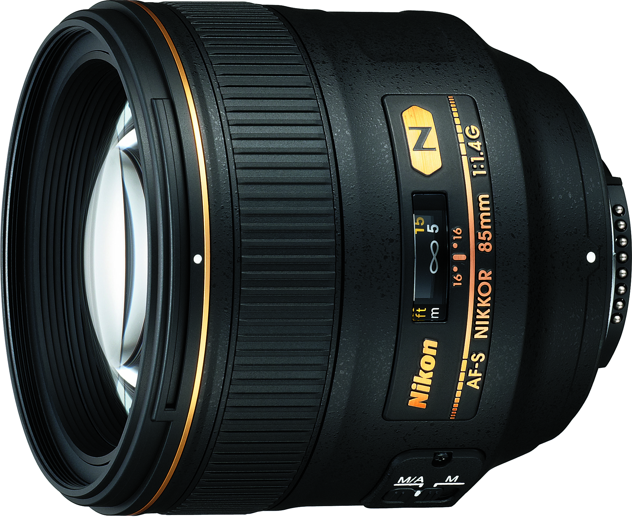 Nikon's newer 85mm f/1.4 model.  Features an AF-S focus mechanism and upgraded optics.
