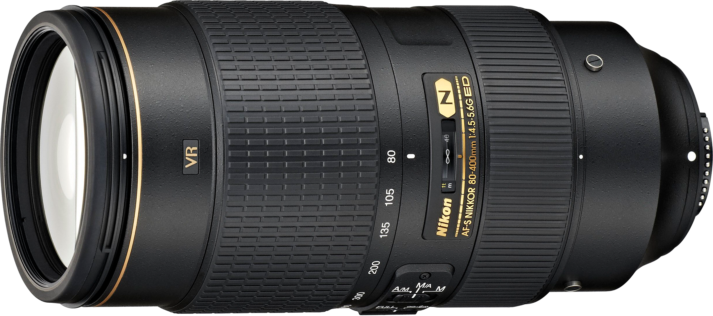 Nikon's new version of the 80-400mm with AF-S focusing motor that works with all DSLRs