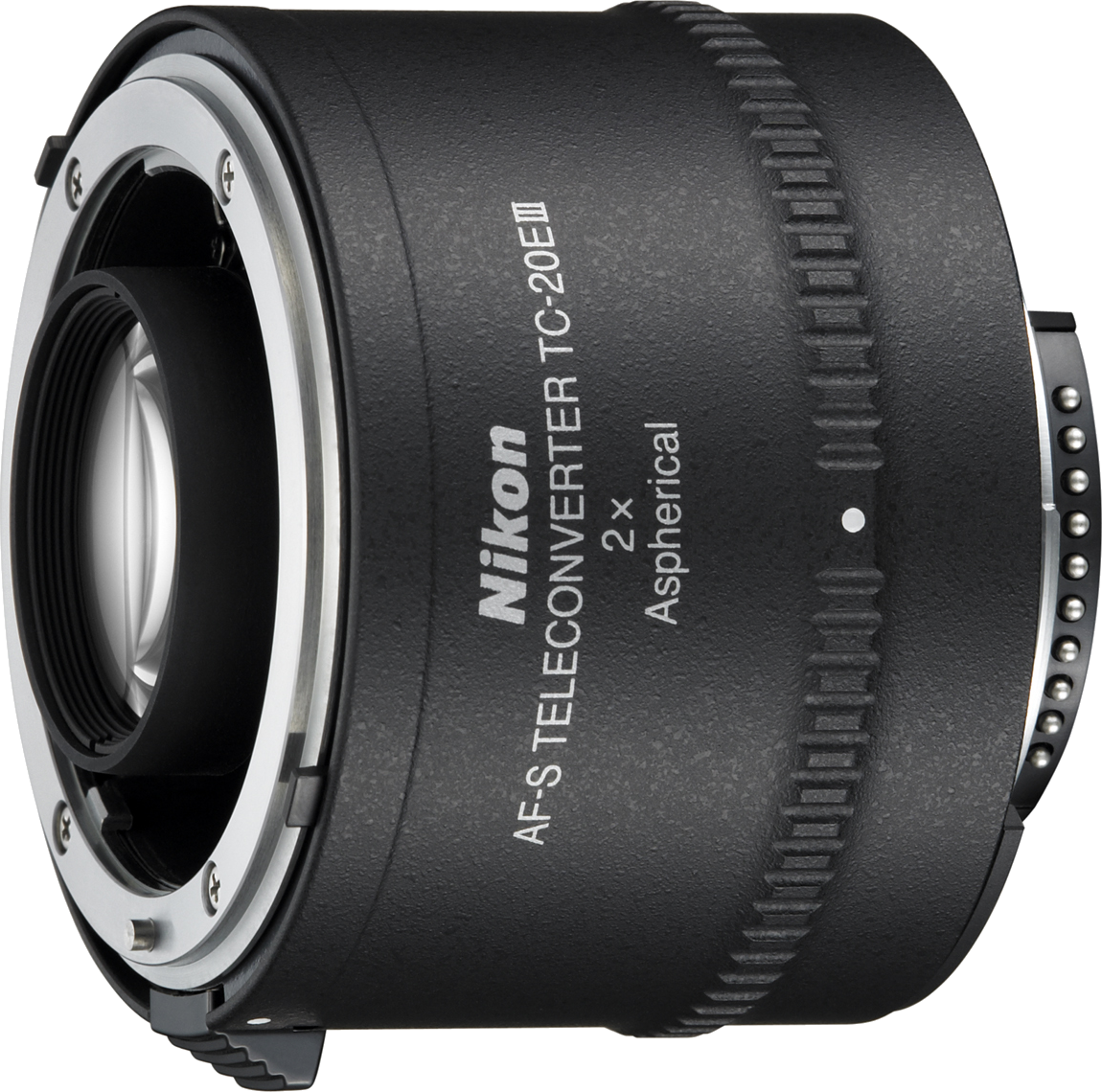 Third version of Nikon's 2x teleconverter.  Please check the compatibility chart before renting.