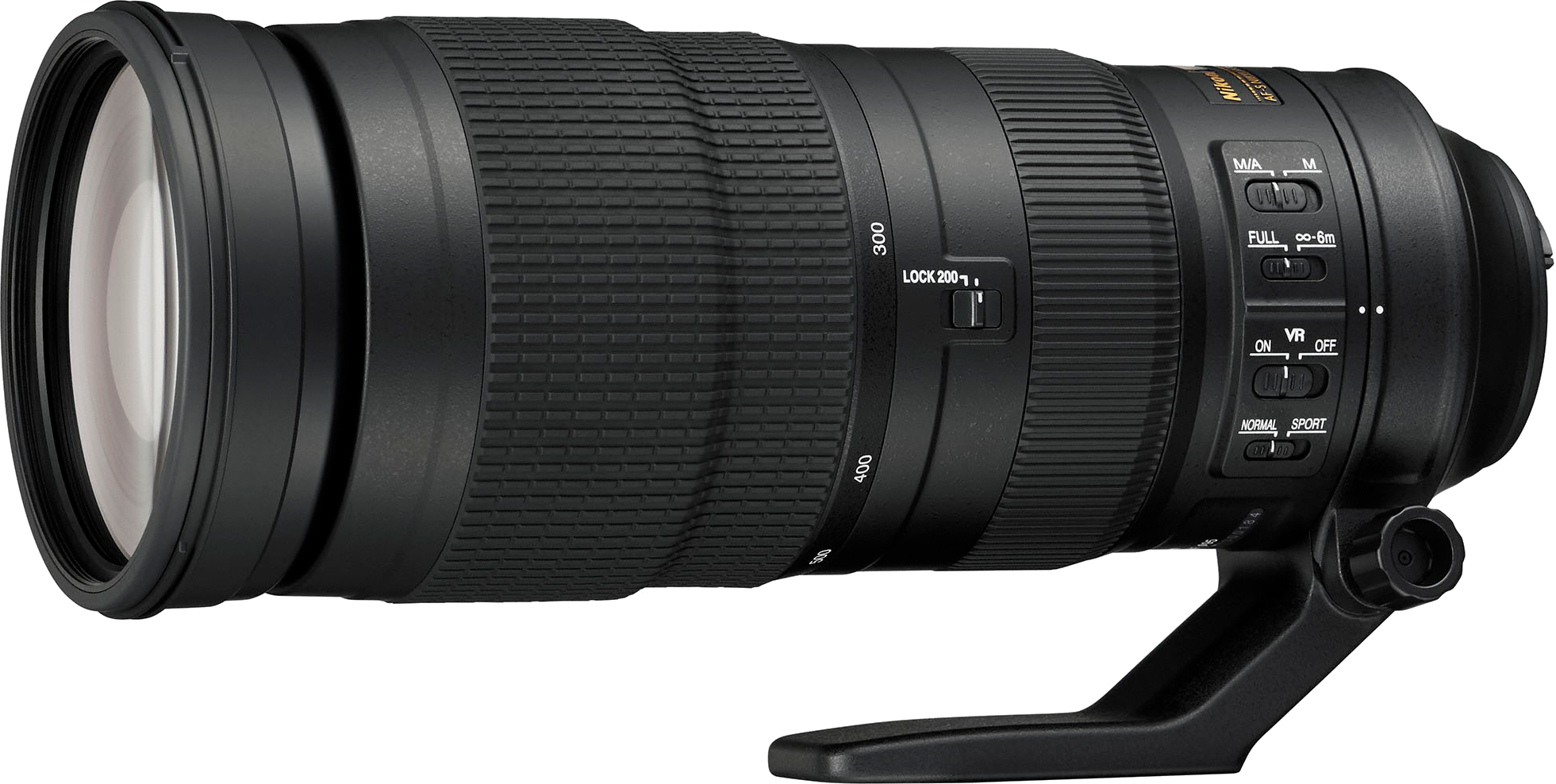 Wide range affordable supertelephoto with vibration reduction